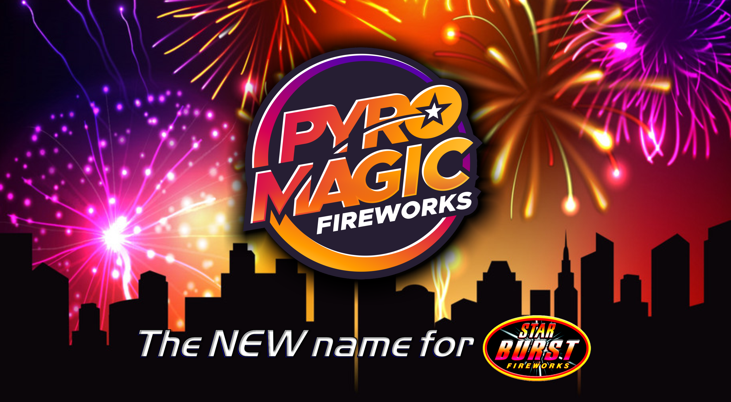 New Pyro Magic Logo